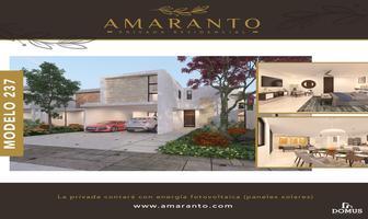 Foto de casa en venta en amaranto , tamanché, mérida, yucatán, 0 No. 01
