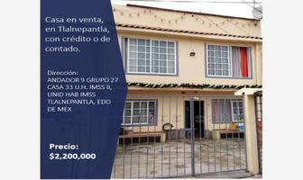 Foto de casa en venta en andador 9 grupo 27 , imss tlalnepantla, tlalnepantla de baz, méxico, 17420711 No. 01