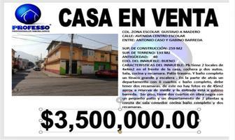 Foto de casa en venta en avenida centro escolar 25, zona escolar, gustavo a. madero, df / cdmx, 11504055 No. 01