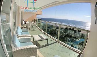 Foto de departamento en venta en avenida costera de las palmas 5 las olas, playa diamante, acapulco de juárez, guerrero, 12342863 No. 01