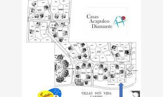 Foto de terreno habitacional en venta en avenida costera de las palmas 5 son vida, playa diamante, acapulco de juárez, guerrero, 12108203 No. 01