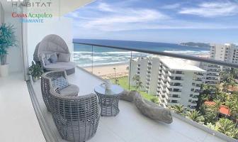 Foto de departamento en venta en avenida costera de las palmas h 1 velera, playa diamante, acapulco de juárez, guerrero, 9503877 No. 01