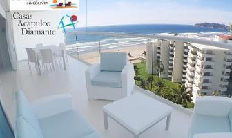 Foto de departamento en renta en avenida costera de las palmas h 1 velera, playa diamante, acapulco de juárez, guerrero, 9705401 No. 01