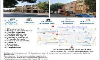 Foto de edificio en venta en avenida enrique díaz de león 502, americana, guadalajara, jalisco, 19408289 No. 01