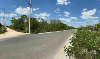 Foto de terreno habitacional en venta en avenida s/n (cotinuación arco vial norte) , dzitya, mérida, yucatán, 0 No. 01