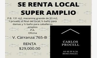 Foto de local en renta en avenida venustiano. carranza 765, tequisquiapan, san luis potosí, san luis potosí, 17774274 No. 01