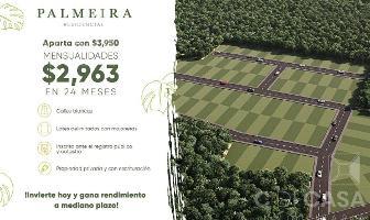 Foto de terreno habitacional en venta en  , baca, baca, yucatán, 12446294 No. 01