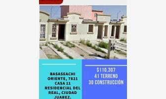 Foto de casa en venta en basaseachi oriente 7821, villas residencial del real, juárez, chihuahua, 5417516 No. 01