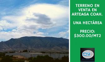 Foto de terreno habitacional en venta en Arteaga Centro, Arteaga, Coahuila de Zaragoza, 13202849,  no 01