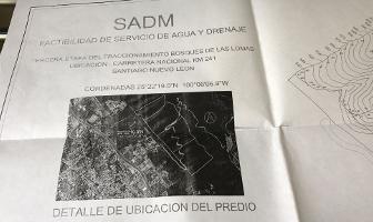 Foto de terreno habitacional en venta en  , bosques de las lomas, santiago, nuevo león, 5979601 No. 01