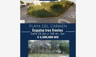 Foto de terreno comercial en venta en calle 25 sur , calica, solidaridad, quintana roo, 12058509 No. 01