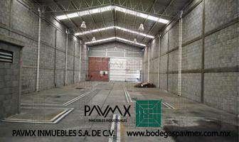 Foto de nave industrial en renta en calle gobernador rafael cepeda 60, granjas valle de guadalupe sección a, ecatepec de morelos, méxico, 8875114 No. 01