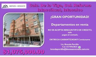 Foto de departamento en venta en calzada de la viga 00, reforma iztaccihuatl norte, iztacalco, df / cdmx, 8302099 No. 01