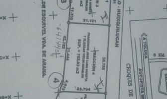 Foto de terreno habitacional en venta en  , cañada de alférez, lerma, méxico, 0 No. 01
