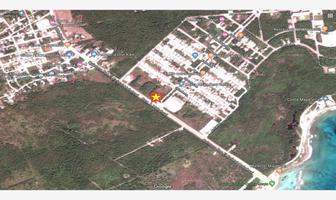 Foto de terreno comercial en venta en carretera a mahahual esquina con avenida paseo del puerto 1082, mza, 2,lote 4, mahahual, othón p. blanco, quintana roo, 8287660 No. 01