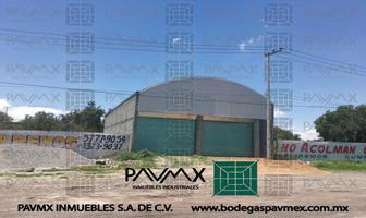 Foto de nave industrial en renta en carretera a tepexpan 8 8, ampliación santa catarina, acolman, méxico, 8878134 No. 01