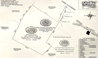 Foto de terreno habitacional en venta en carretera acanche , kanasin, kanasín, yucatán, 0 No. 01
