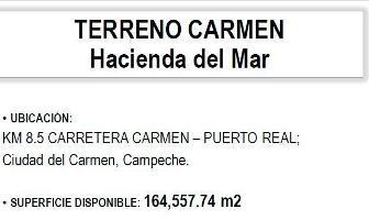 Foto de terreno habitacional en venta en carretera carmen puerto real , isla aguada, carmen, campeche, 14251823 No. 01