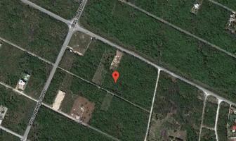 Foto de terreno habitacional en venta en carretera chicxulub puerto , san francisco de asís, conkal, yucatán, 13765904 No. 01