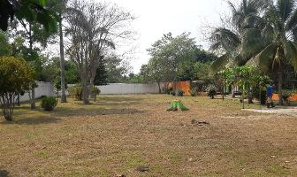 Foto de terreno habitacional en venta en carretera vhsa - reforma , guineo 1a secc, centro, tabasco, 0 No. 01