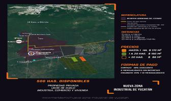 Foto de terreno industrial en venta en carrrt. hunucma - uman , texan palomeque, hunucmá, yucatán, 13056823 No. 01