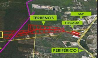 Foto de terreno habitacional en venta en  , caucel, mérida, yucatán, 8422404 No. 01