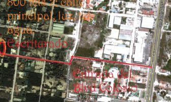 Foto de terreno habitacional en venta en Alfredo V Bonfil, Benito Juárez, Quintana Roo, 12523378,  no 01