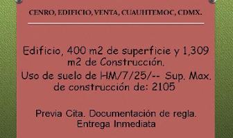 Foto de edificio en venta en  , centro (área 4), cuauhtémoc, df / cdmx, 11985556 No. 01