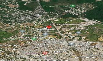 Foto de terreno habitacional en venta en cerca de carretera a motul , cholul, mérida, yucatán, 0 No. 01