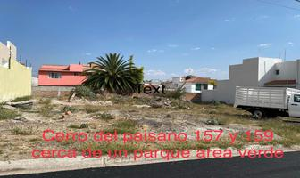 Foto de terreno habitacional en venta en cerro del paisano 157, juriquilla privada, querétaro, querétaro, 14955038 No. 01