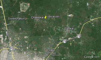 Foto de terreno habitacional en venta en  , chablekal, mérida, yucatán, 11820701 No. 01
