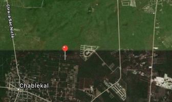 Foto de terreno habitacional en venta en  , chablekal, mérida, yucatán, 14278130 No. 01