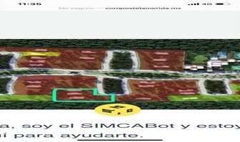 Foto de terreno habitacional en venta en  , chablekal, mérida, yucatán, 17814456 No. 01