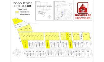 Foto de terreno habitacional en venta en  , chicxulub, chicxulub pueblo, yucatán, 14028633 No. 01