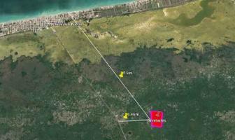 Foto de terreno habitacional en venta en  , chicxulub puerto, progreso, yucatán, 14177887 No. 01