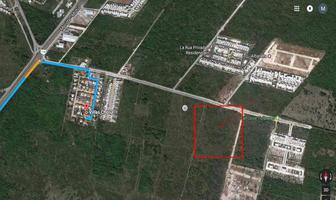 Foto de terreno habitacional en venta en  , cholul, mérida, yucatán, 11223049 No. 01