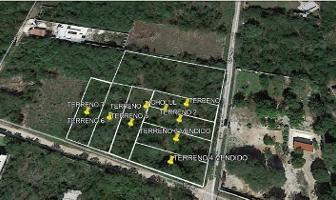 Foto de terreno habitacional en venta en  , cholul, mérida, yucatán, 13809583 No. 01