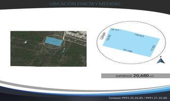 Foto de terreno habitacional en venta en  , cholul, mérida, yucatán, 14276197 No. 01