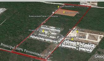 Foto de terreno habitacional en venta en  , cholul, mérida, yucatán, 15691607 No. 01
