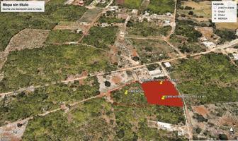 Foto de terreno habitacional en venta en  , cholul, mérida, yucatán, 18248201 No. 01