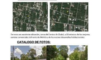 Foto de terreno habitacional en venta en  , cholul, mérida, yucatán, 6605793 No. 01