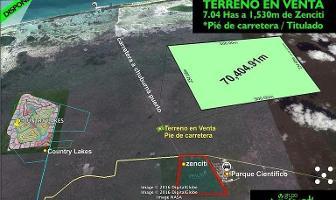 Foto de terreno habitacional en venta en  , chuburna puerto, progreso, yucatán, 11178187 No. 01