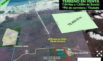 Foto de terreno habitacional en venta en  , chuburna puerto, progreso, yucatán, 14027538 No. 01