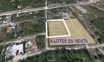 Foto de terreno habitacional en venta en  , paraíso, mérida, yucatán, 8830378 No. 01