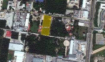 Foto de terreno habitacional en venta en  , colegios, benito juárez, quintana roo, 6804503 No. 01