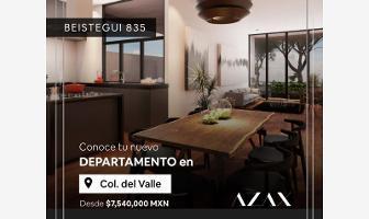 Foto de departamento en venta en concepcion beistegui 835, del valle centro, benito juárez, df / cdmx, 0 No. 01