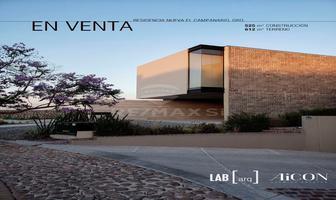 Foto de casa en venta en congregacion , el campanario, querétaro, querétaro, 14219065 No. 01
