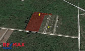 Foto de terreno habitacional en venta en conkal , conkal, conkal, yucatán, 5716477 No. 01