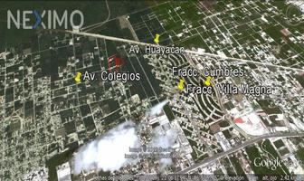 Foto de terreno habitacional en venta en conocida 110, colegios, benito juárez, quintana roo, 19744423 No. 01