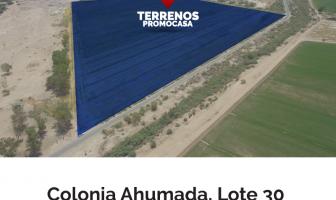 Foto de terreno comercial en venta en Ahumadita, Mexicali, Baja California, 5525369,  no 01